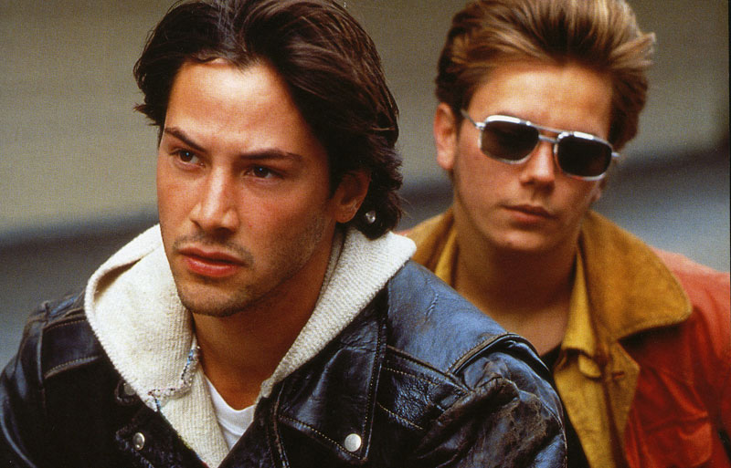Image result for keanu reeves and river phoenix