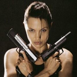 Anjelina Jolie Lara croft Tomb Raider