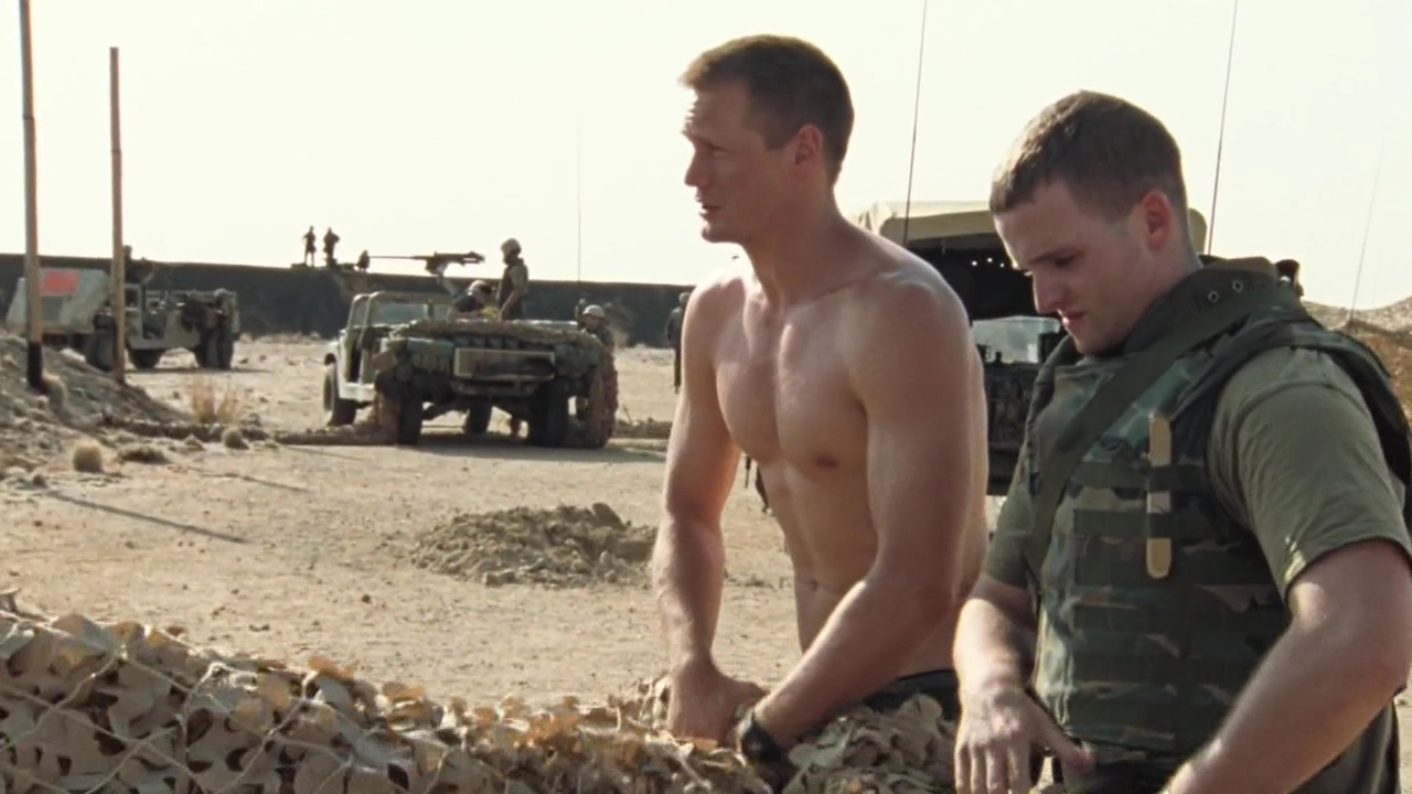 Alexander Skarsgard as Brad Colbert (Iceman) in Generation Kill