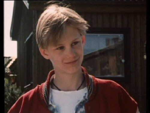 Alexander Skarsgard in The Dog That Smiled (13 y/o)