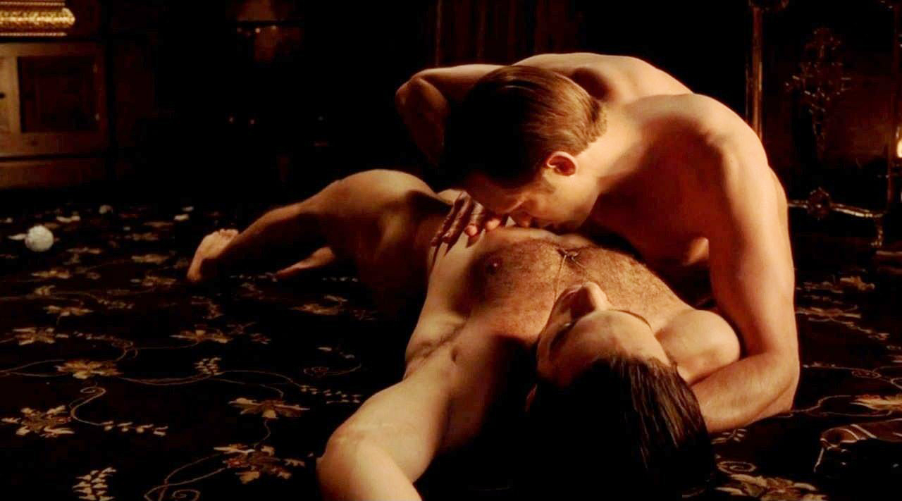 Sex scene with Alexander Skarsgard in True Blood